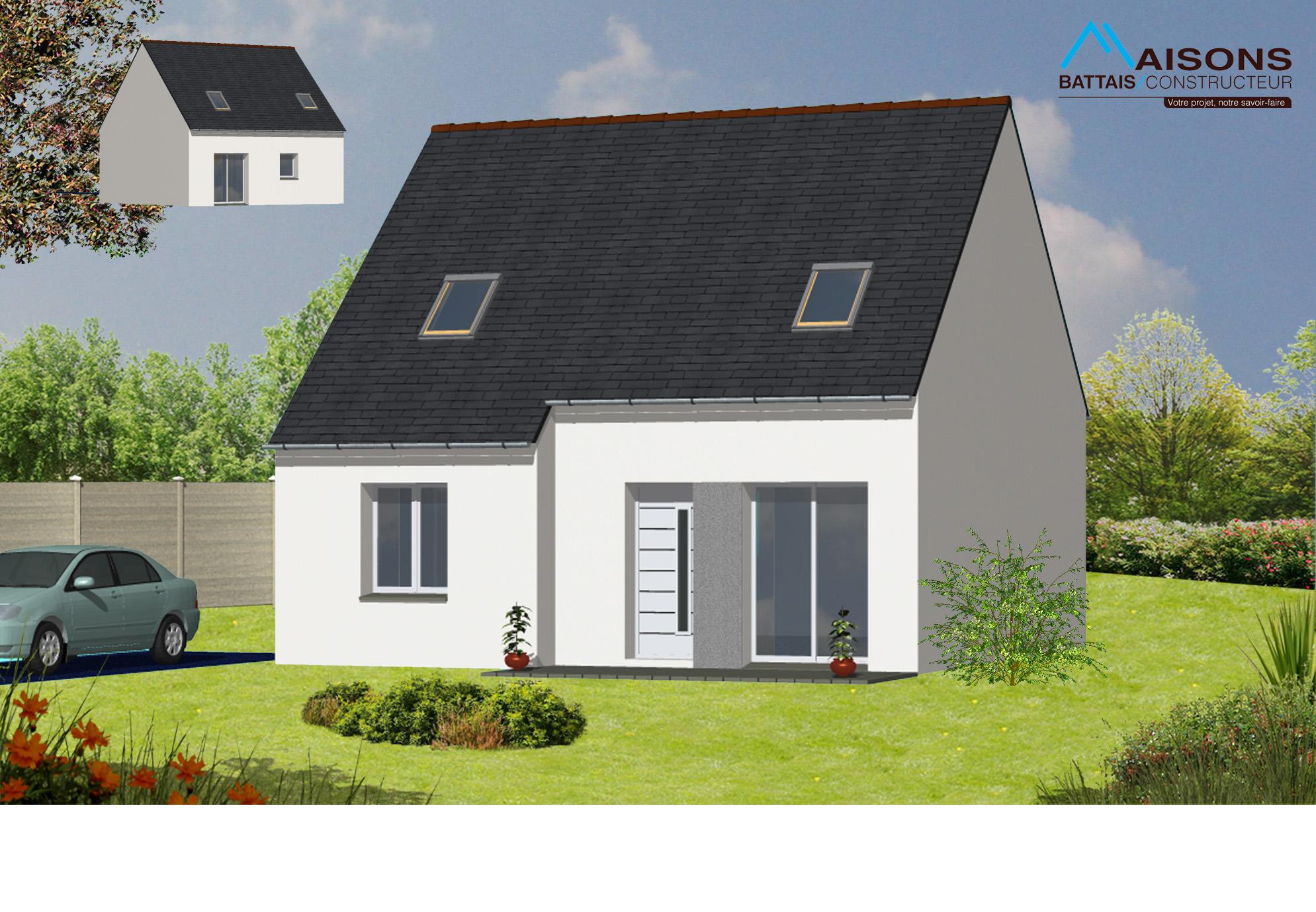 Constructeur de maison individuelle et moderne en ille et for Constructeur de maison individuelle chartres