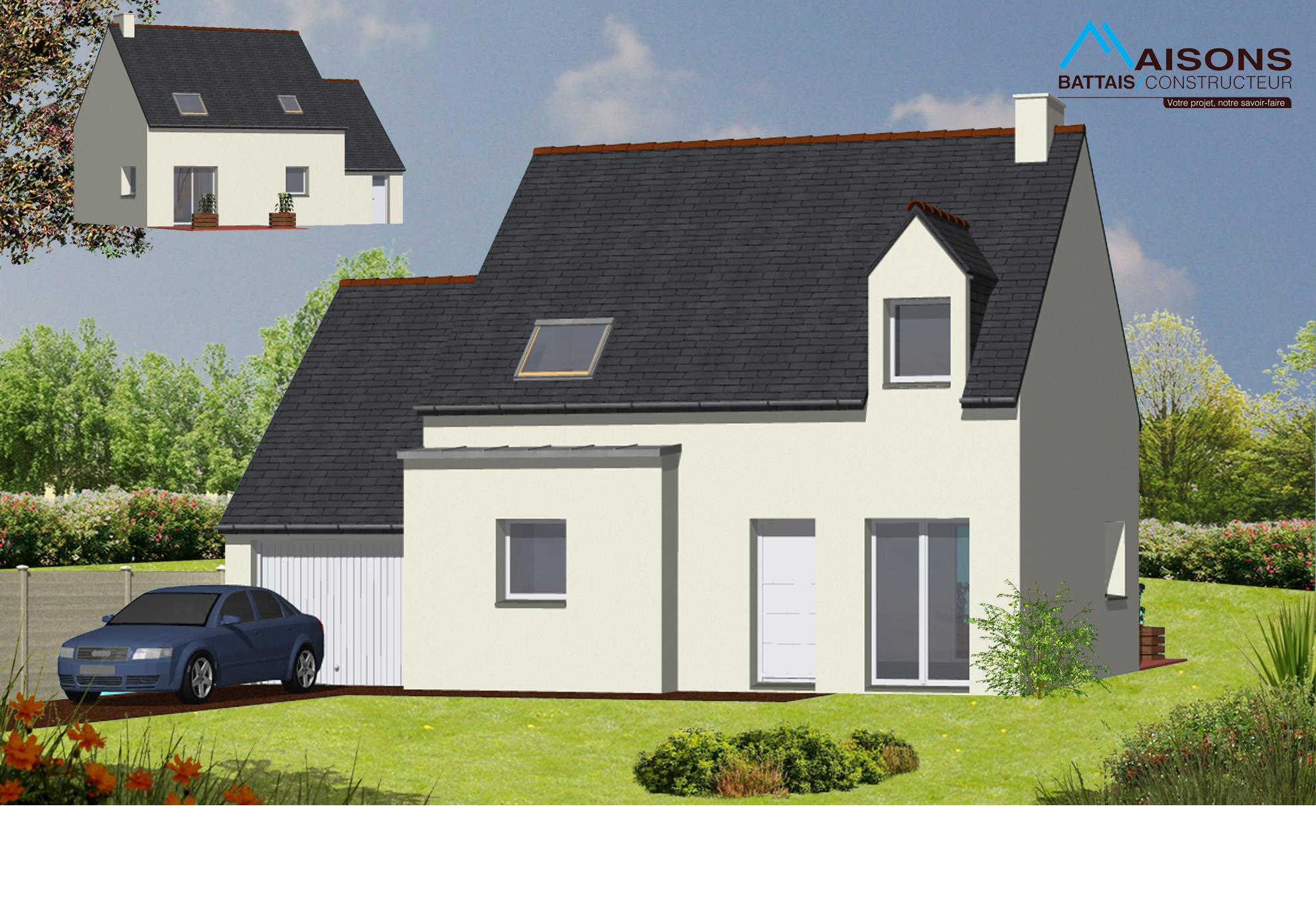 64 maisons battais constructeur ille et vilaine for Constructeur maison 64