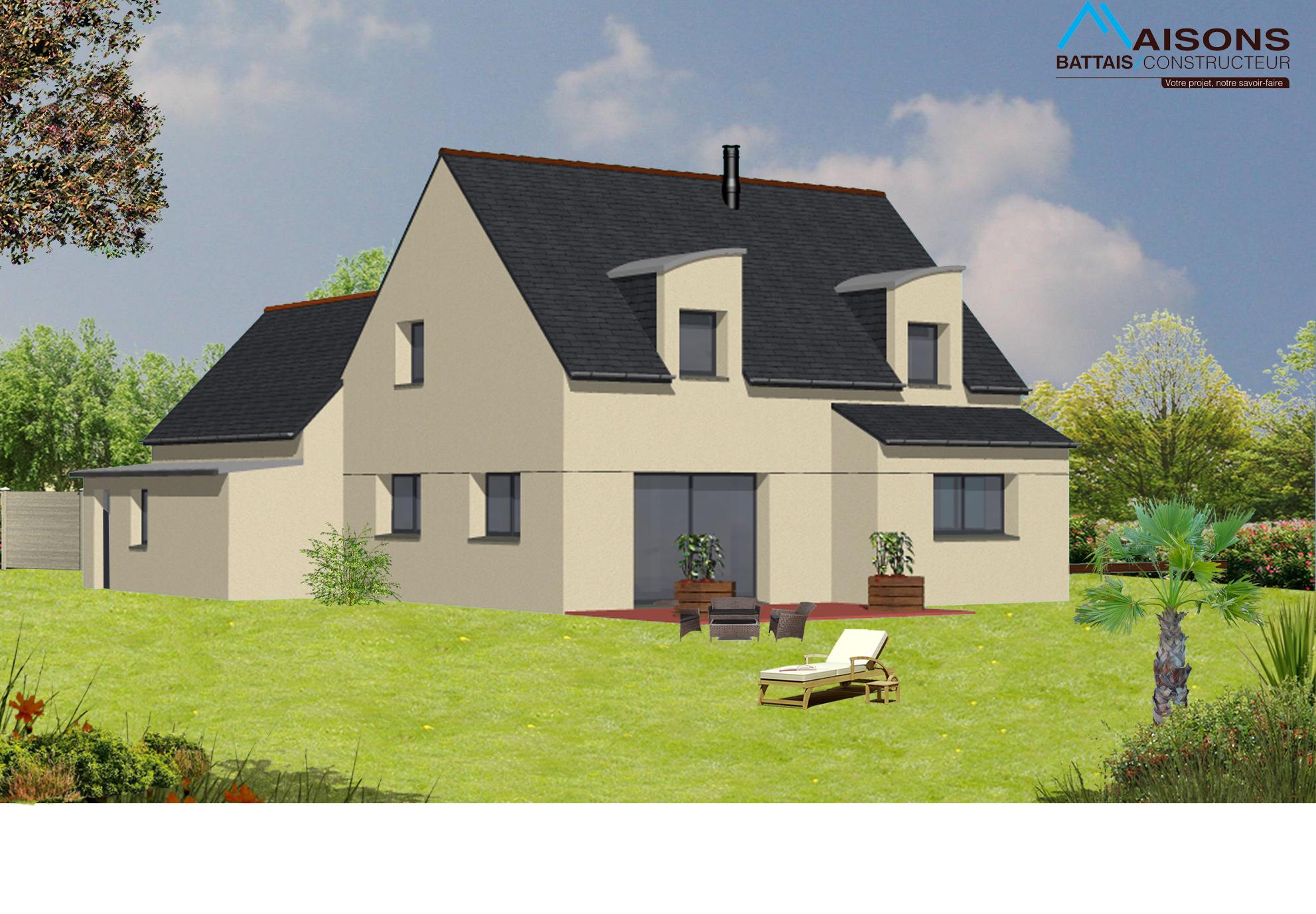 67 maisons battais constructeur ille et vilaine for Constructeur maison individuelle 67