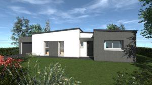 Maisons Battais construction maison 35 CHASNE SUR ILLET 1 Contemporain E Spacieuse Moderne Espace Exposition Personnailsable Design 744
