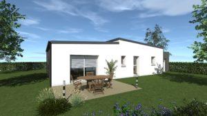 Maisons Battais construction maison 35 CHASNE SUR ILLET 2 Contemporain E Spacieuse Moderne Espace Exposition Personnailsable Design 745