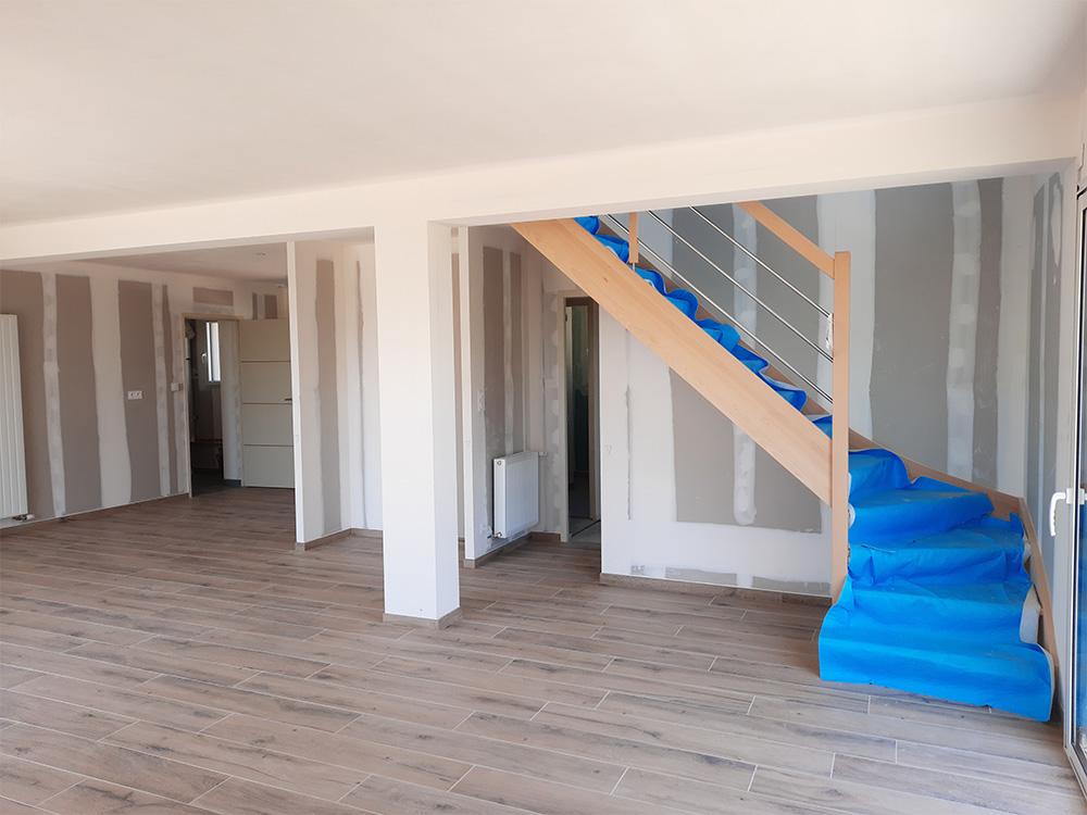 JPB MAISON BATTAIS Agrandissement De Maison 35 Escalier 2