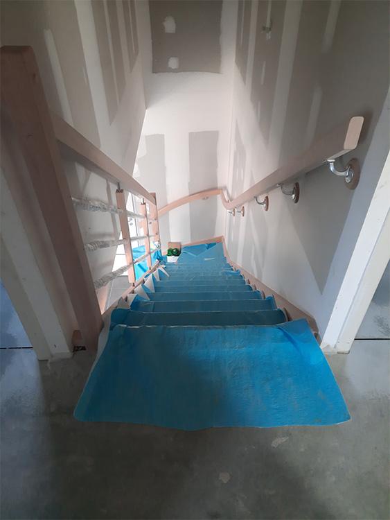 JPB MAISON BATTAIS Agrandissement De Maison 35 Escalier 4