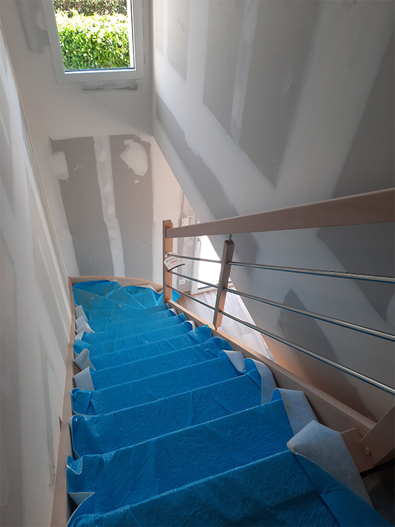 JPB MAISON BATTAIS Agrandissement De Maison 35 Escalier 8