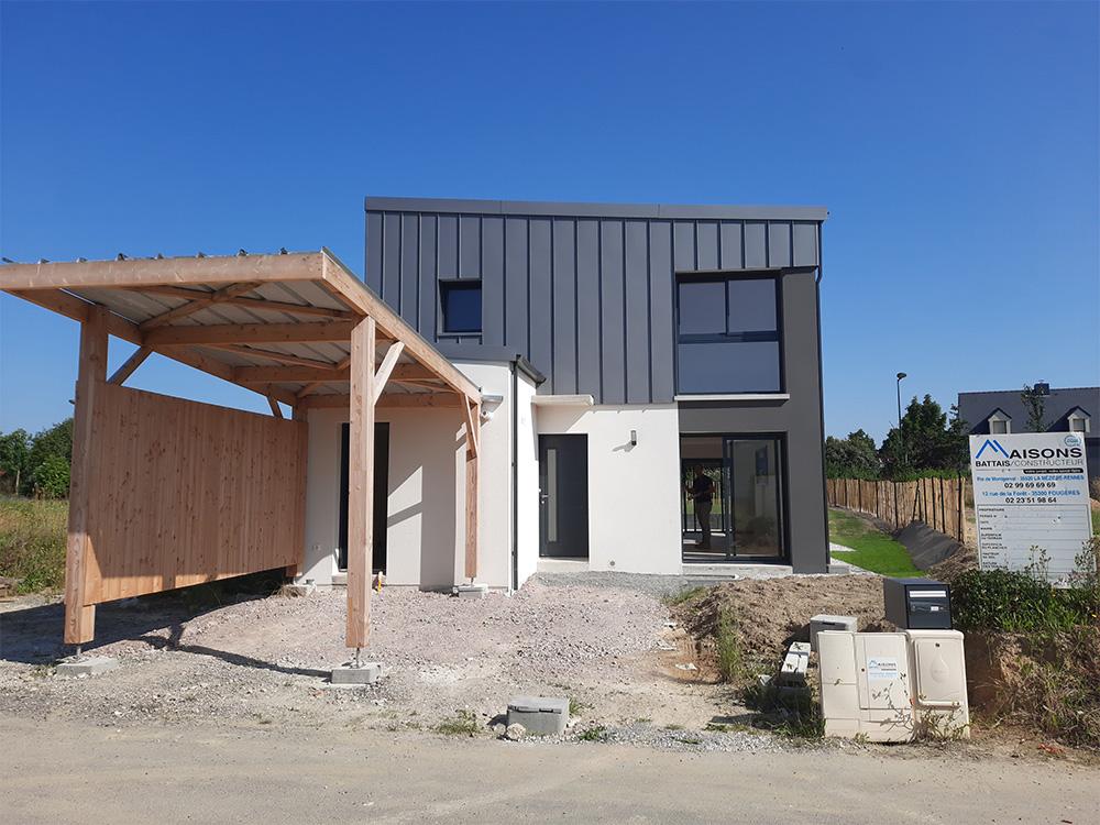 JPB MAISON BATTAIS Agrandissement De Maison 35 Construction Maisons 11