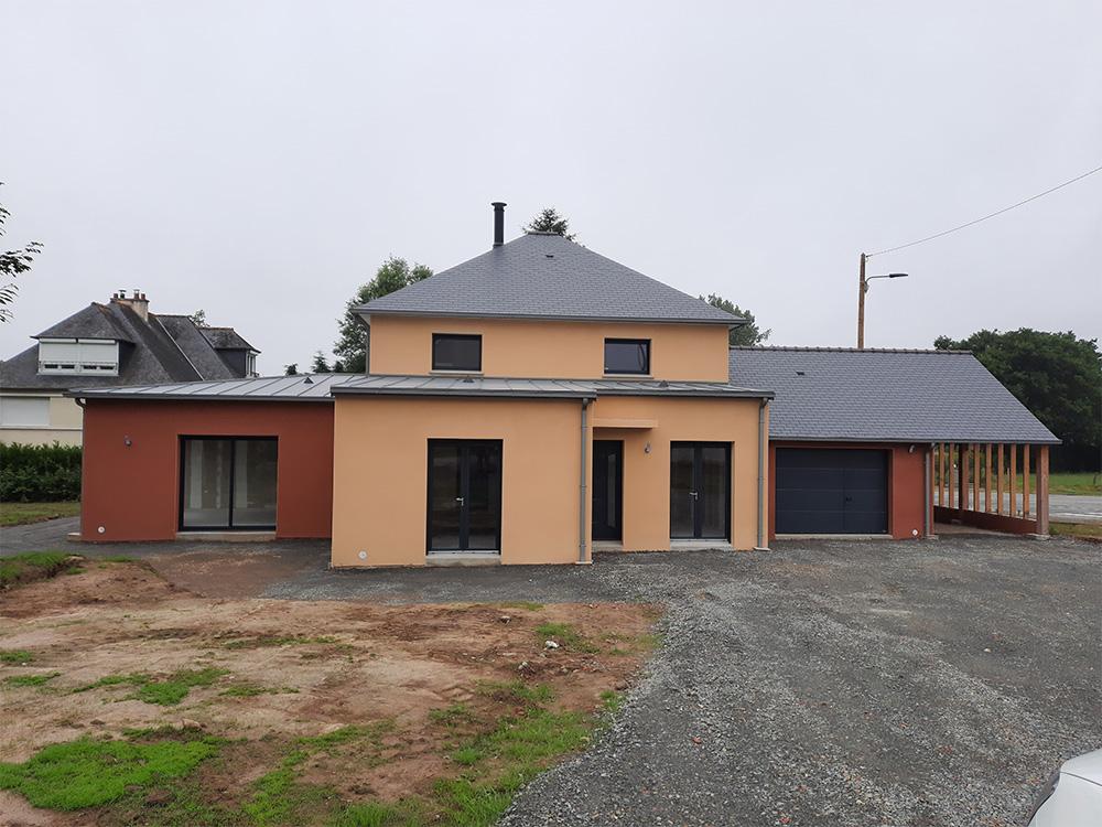 JPB MAISON BATTAIS Agrandissement De Maison 35 Construction Maisons 15