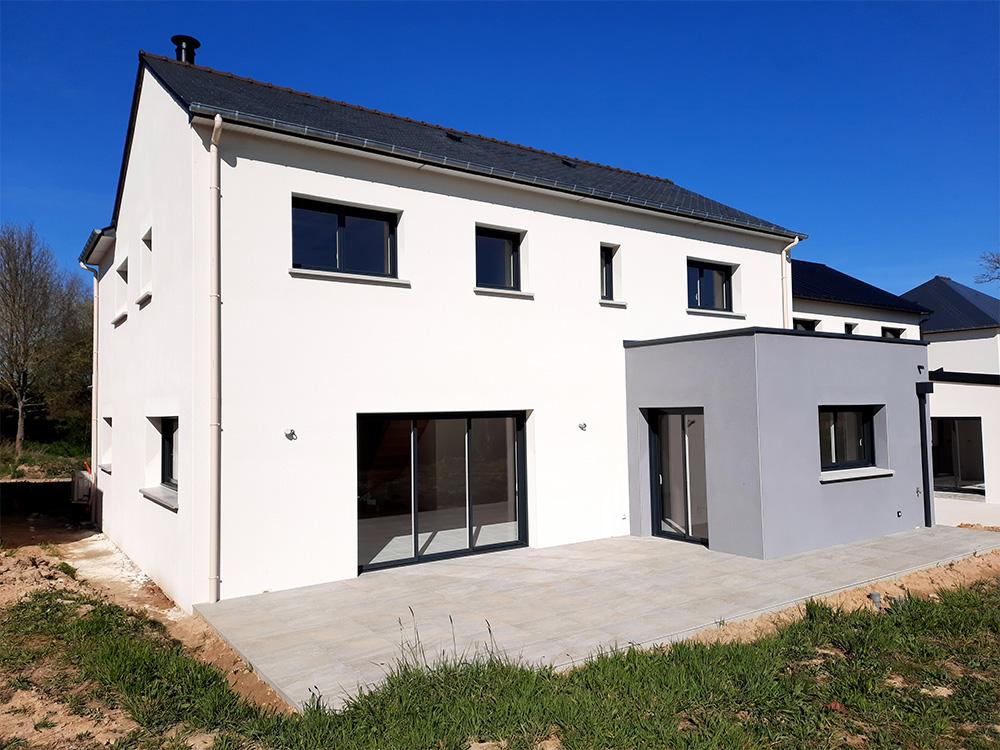 JPB MAISON BATTAIS Agrandissement De Maison 35 Construction Maisons 24