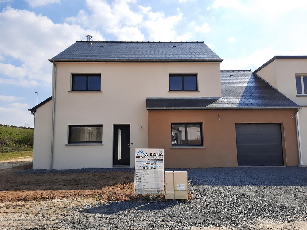 JPB MAISON BATTAIS Agrandissement De Maison 35 Construction Maisons 26
