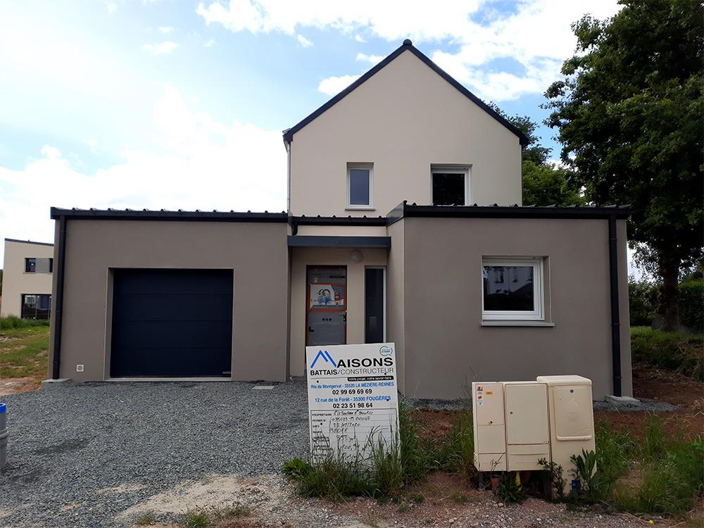 JPB MAISON BATTAIS Agrandissement De Maison 35 Construction Maisons 28