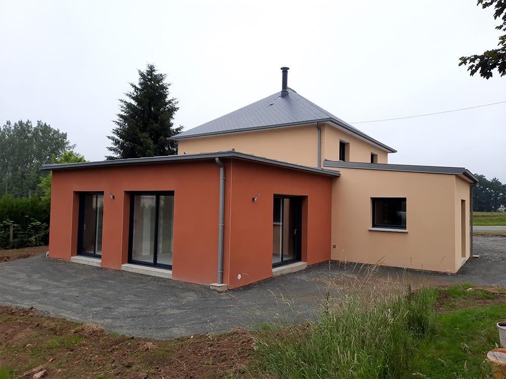JPB MAISON BATTAIS Agrandissement De Maison 35 Construction Maisons 4