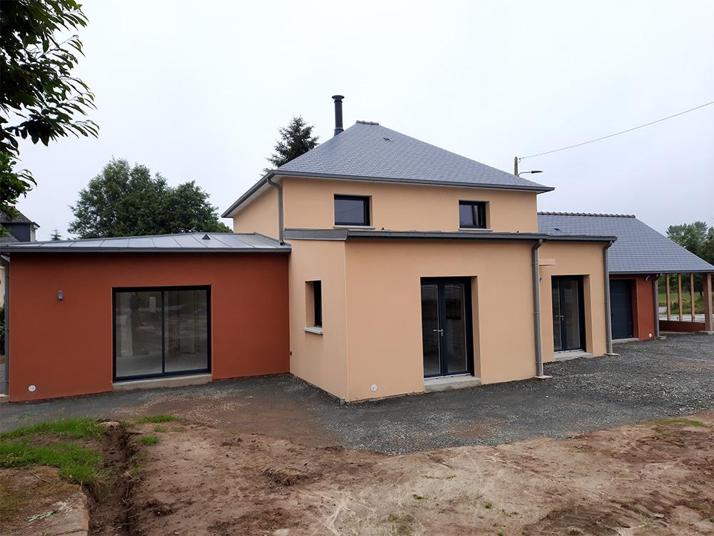 JPB MAISON BATTAIS Agrandissement De Maison 35 Construction Maisons 5
