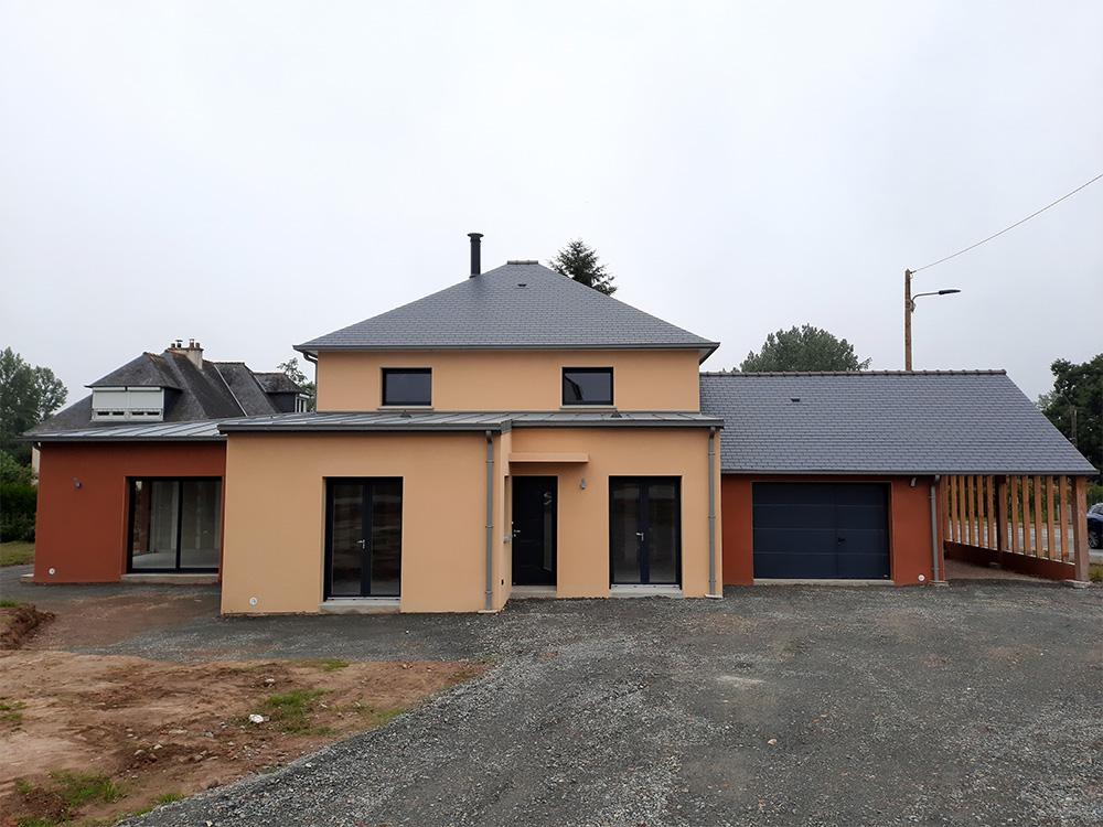 JPB MAISON BATTAIS Agrandissement De Maison 35 Construction Maisons 6