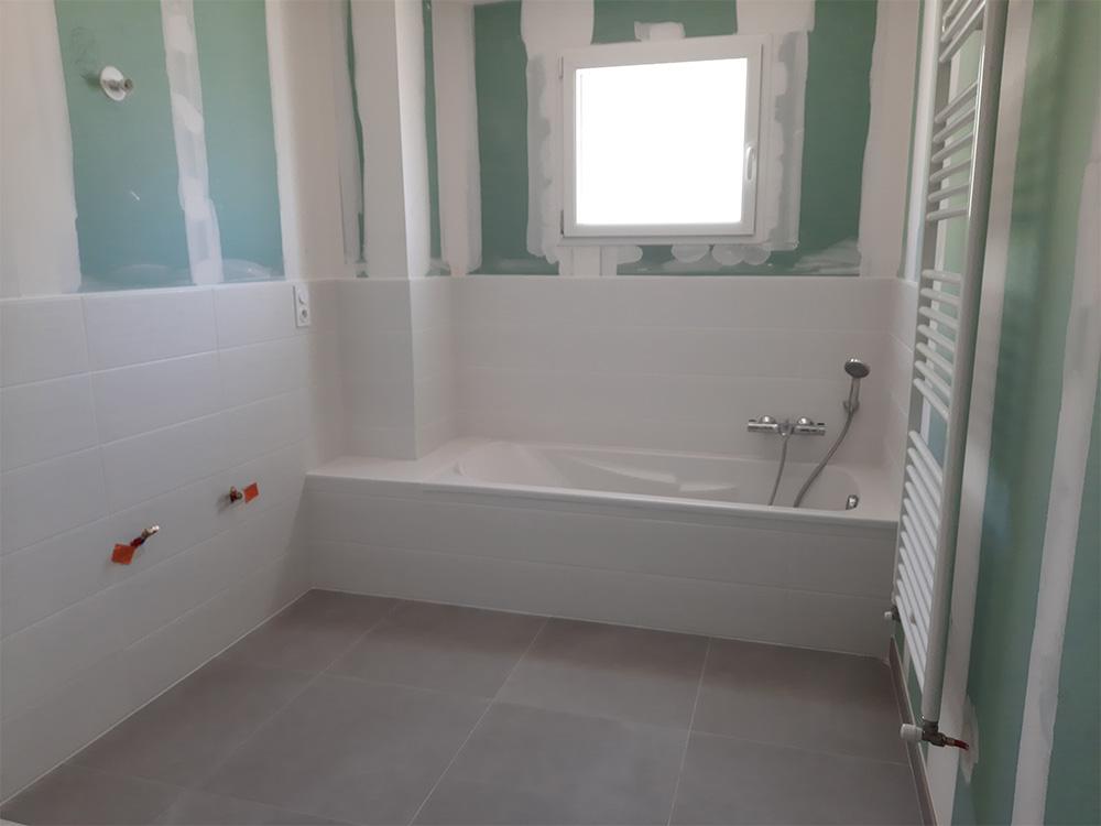 JPB MAISON BATTAIS Agrandissement De Maison 35 Sanitaire 2