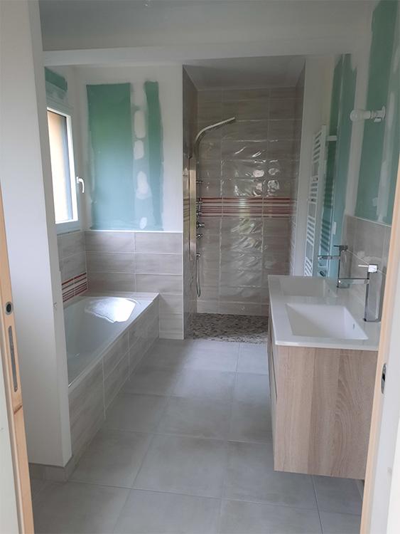 JPB MAISON BATTAIS Agrandissement De Maison 35 Sanitaire 3