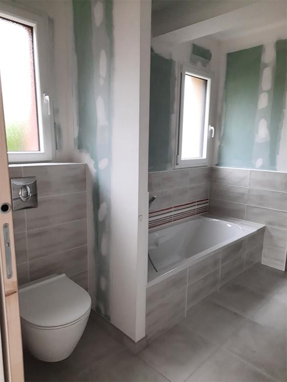 JPB MAISON BATTAIS Agrandissement De Maison 35 Sanitaire 4