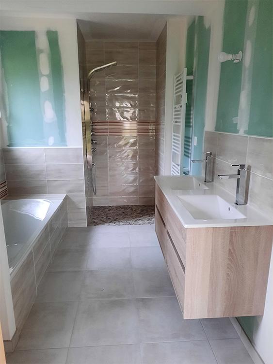 JPB MAISON BATTAIS Agrandissement De Maison 35 Sanitaire 5